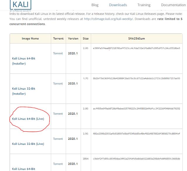 Download Kali Linux 2020.1 ISO File