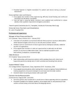 Sample Nursing Resume 2