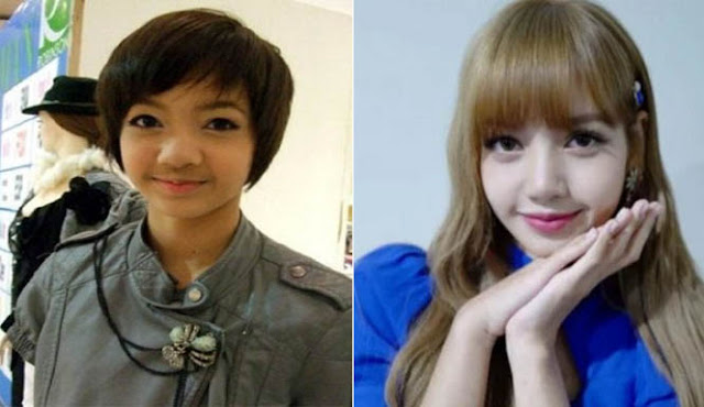 foto transformasi lisa blackpink