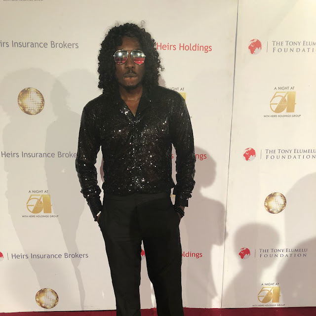 Bovi steps out for event in long weave