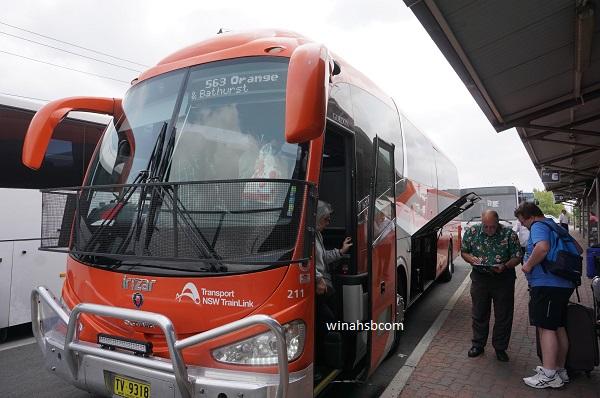 Bus ke Lithgow