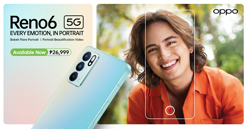 OPPO Reno6 5G is Now Officially Available in PH