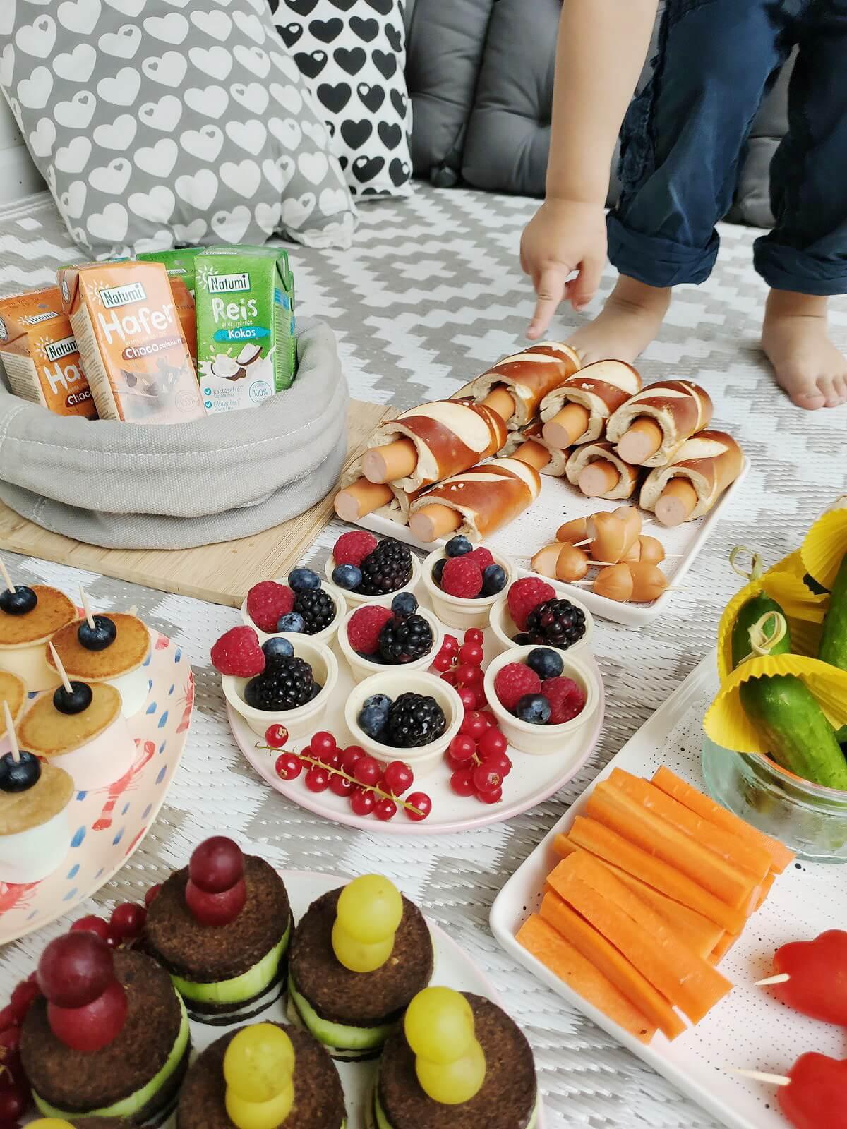 Unsere Zuhause-Picknick-Party und 10 schnelle Rezept Ideen