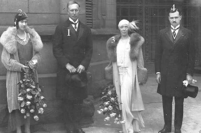 Albert I et Elisabeth en visite officielle au grand duché de Luxembourg