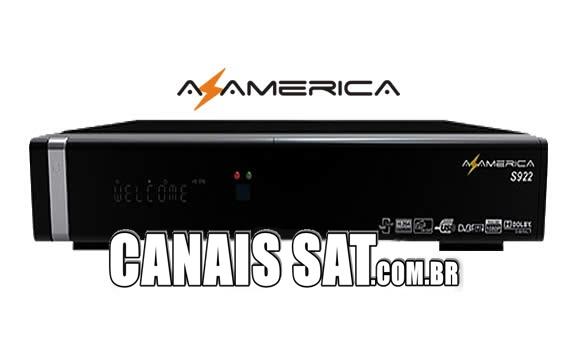 Azamerica S922 em Tocomsat Duo HD + Nova Atualização V2.056 - 03/12/2019