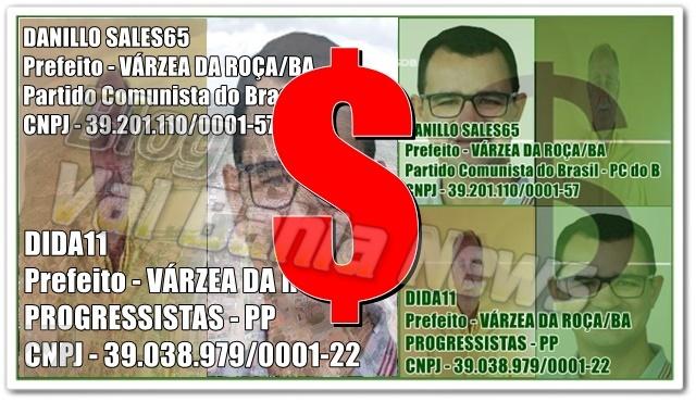 Veja a declaração de bens dos candidatos de Várzea da Roça e região