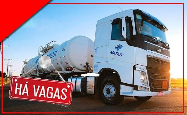 Transportadora Masut abre vagas para Motorista em 6 Estados