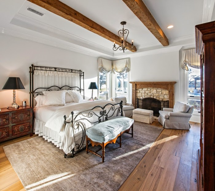 20 Romantic Bedroom Ideas In A Stylish Collection: 20 Romantic Bedroom Furniture In Country Style