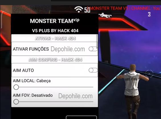 Free Fire Monster Team Menu En İyi ESP, Aim Hilesi Eylül 2021