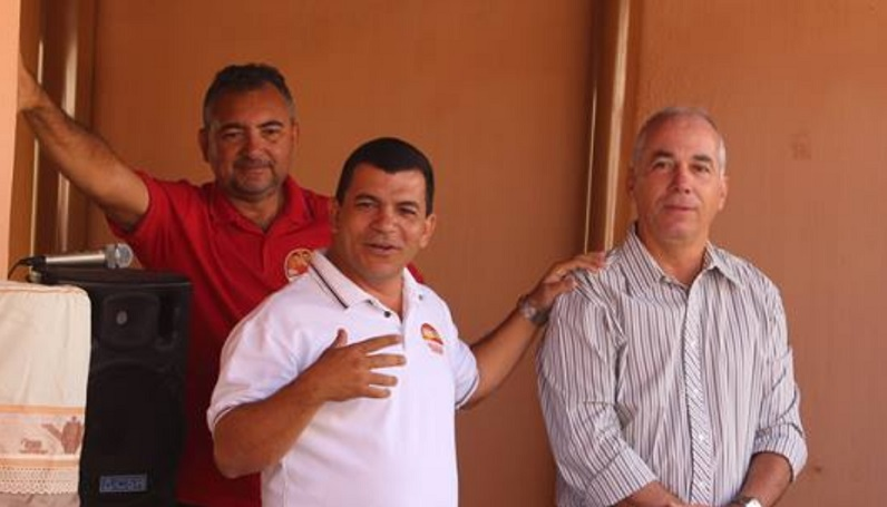 Inaldo Loiola (esquerda), Paulo Bomfim e Joaquim Neto - Portal Spy