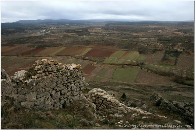 Camino de la vega desde la fortaleza