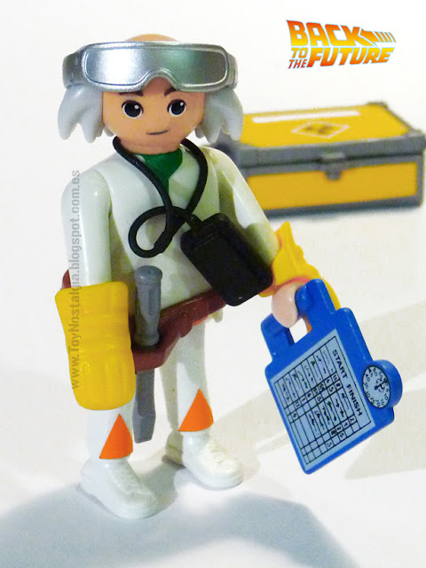 Playmobil Volver al Futuro Doctor Emmet Brown