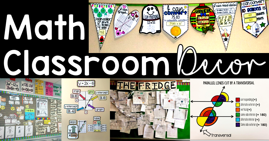 Math And Science Classroom Decorations ~ Scaffolded math and science classroom decoration ideas