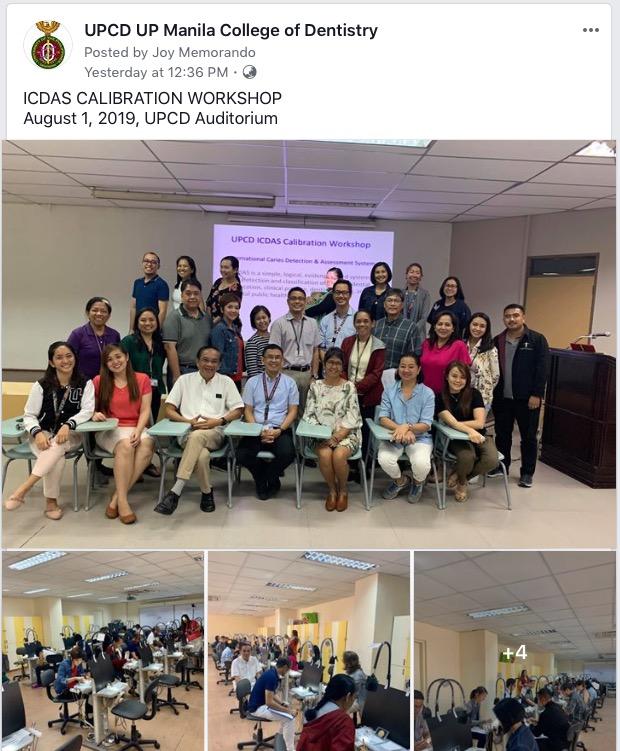 ICDAS Calibration Workshop