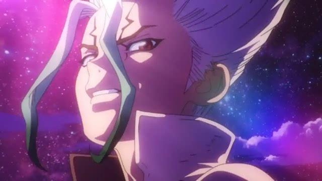 Senku protagonista do anime Dr. Stone