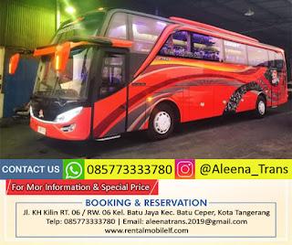 Sewa Bus Tangerang Murah, Dapatkan Harga Rental Promo