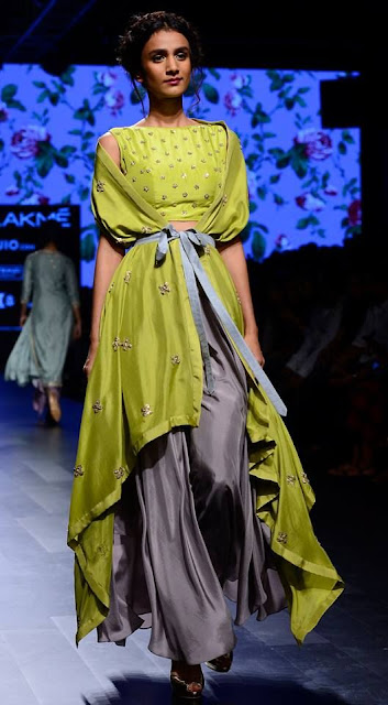 Anushree reddy lakme fashion week