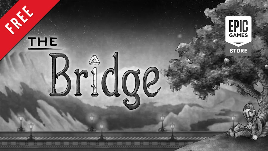 the bridge free pc game epic games store indie logic based puzzle game quantum astrophysicists guild
