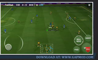Gameplay-FIFA-14-Mod PES-21-Update-Transfer-2021