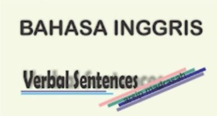 Verbal Sentence dalam Bahasa Inggris