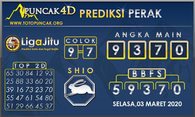 PREDIKSI TOGEL PERAK PUNCAK4D 03 MARET 2020