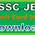 SSC JE Admit Card 2018 Download Junior Engineer 2018 Call Letter Download
