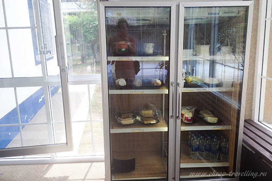 Сыр в холодильнике
