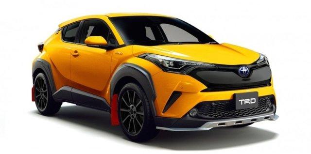 Toyota C-HR TRD dan Modellista