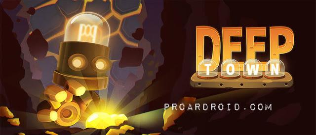 لعبة Deep Town: Mining Factory v4.1.9 مهكرة للأندرويد (اخر اصدار) Deep-Town-Mining-Fac
