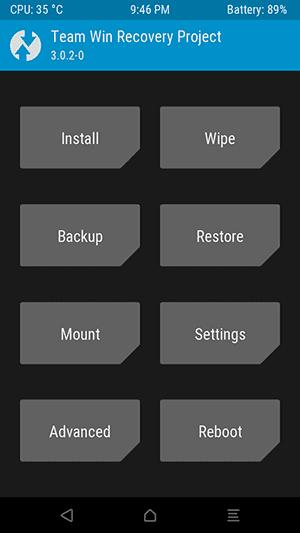 TWRP Redmi Note 8 / 8 Pro