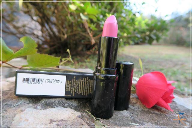 Batom Lip Deluxe Máxima Cor Eudora FPS 15 Pink Vintage