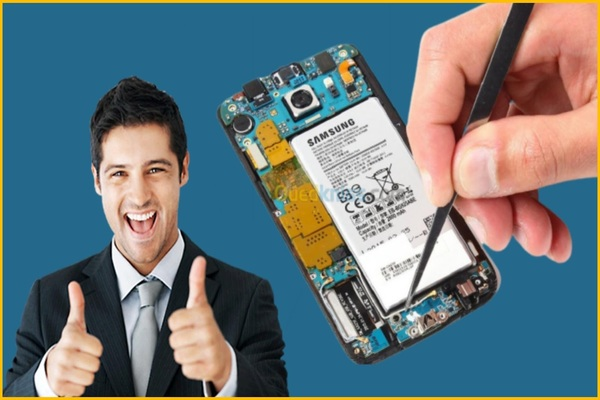 Free services consisting of educational courses to repair and maintain broken devices and phones from your home only