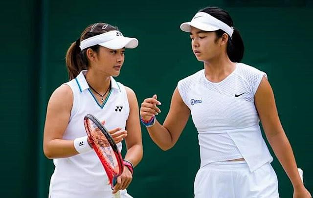 Lumat Erika Matsuda/Valencia Xu, Priska Madelyn Nugroho/Alexandra Eala Melaju ke Babak 2 Wimbledon Yunior