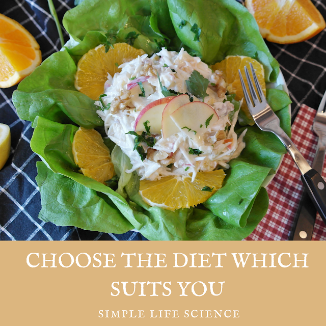 Choose The Diet Which Suits You ?