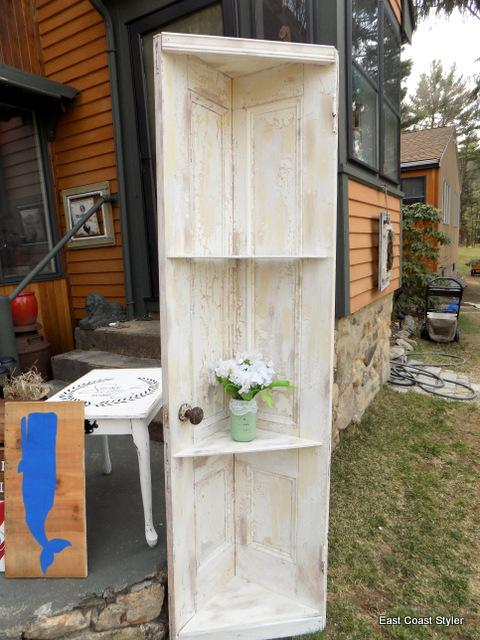 chippy shabby chic paint door