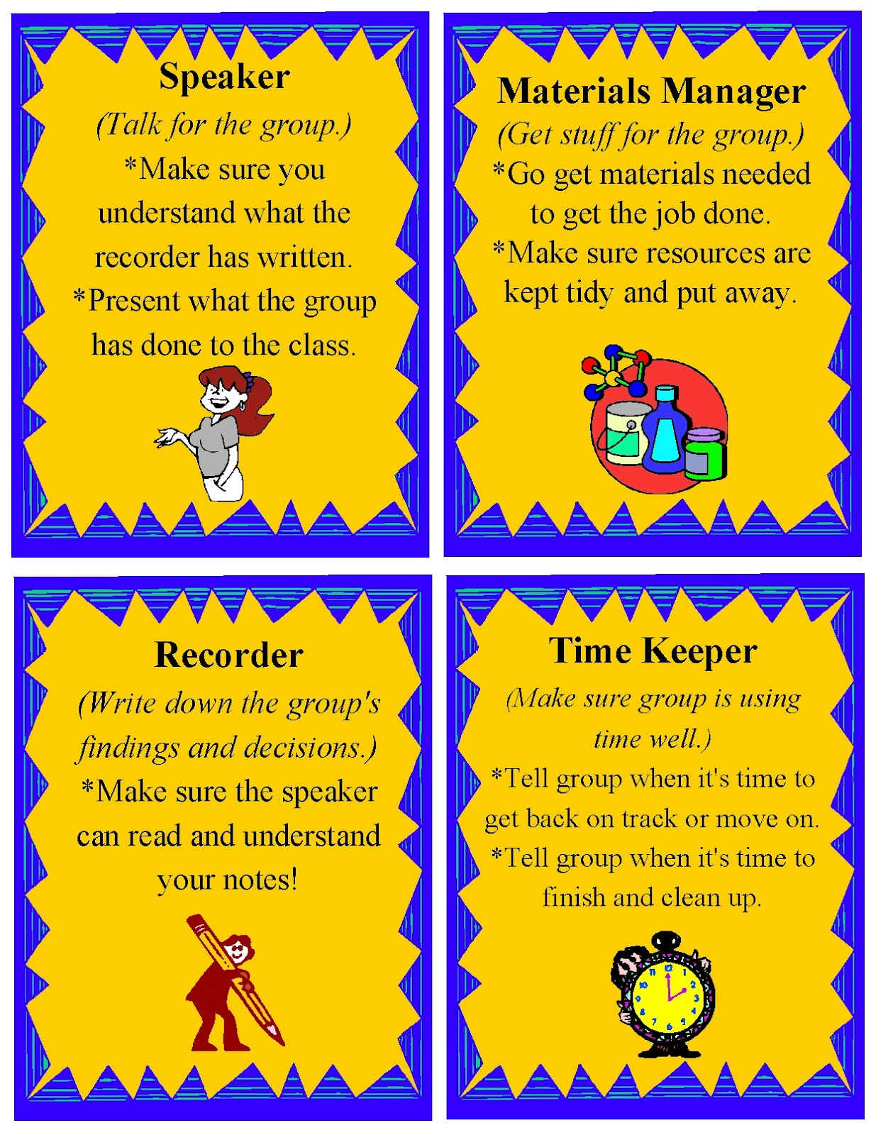 Small Group Roles 11