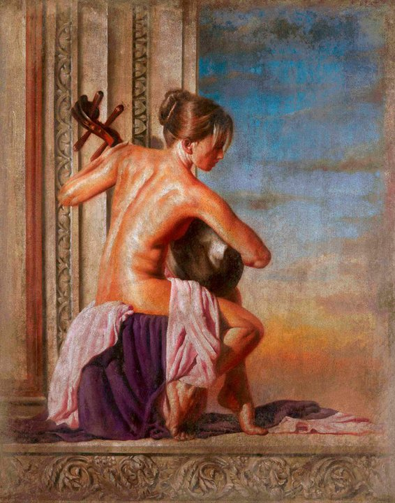 Tomasz Rut 1961 | Polish Figurative painter