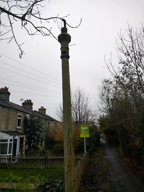 Stinkpipe, Stenchpipe, Railway Street, Cambridge, Charry Hinton, Psychogeography