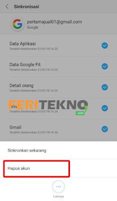 cara logout gmail dari handphone - feri tekno