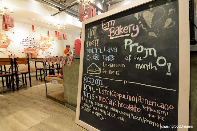 Oc Cafe Menu