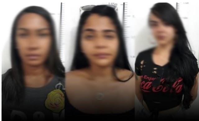 """Três """"amigas"""" portando drogas são detidas pela Rondesp a caminho de Tanhaçu"""
