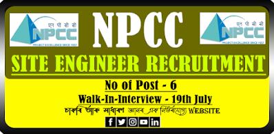 NPCC Ltd Site Engineer Recruitment 2021