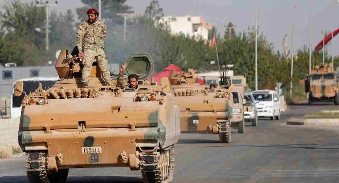 Ο συριακός στρατός με τη βοήθεια ρωσικών δυνάμεων μπήκαν στο Κομπάνι