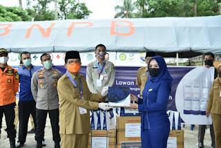 Gubernur Apresiasi Bantuan Hand Sanitizer