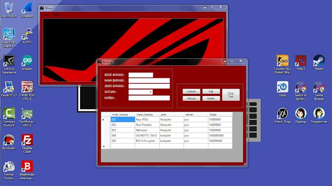 Belajar Membuat Aplikasi CRUD Barang di Visual Basic 2008 dengan MySQL