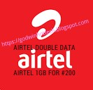 GO ON WITH 2X YOUR MEGABYTE ON AIRTEL NETWORK AND MORE