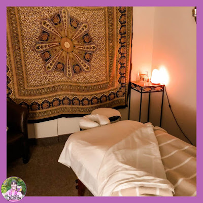 Photo of massage therapy room.