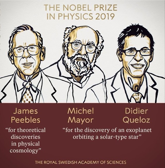 Nobel Prize in Physics for 2019
