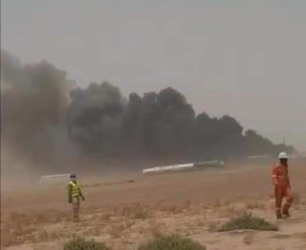 إنفجار ضخم في منجم للذهب في منطقة تازيازت شمال موريتانيا.