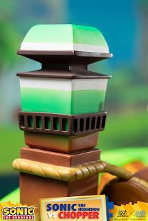 Sonic Vs Chopper de Sonic The Hedgehog - GNF Toyz y First 4 Figures